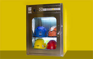 UVC Stainless Cabinet Helmets